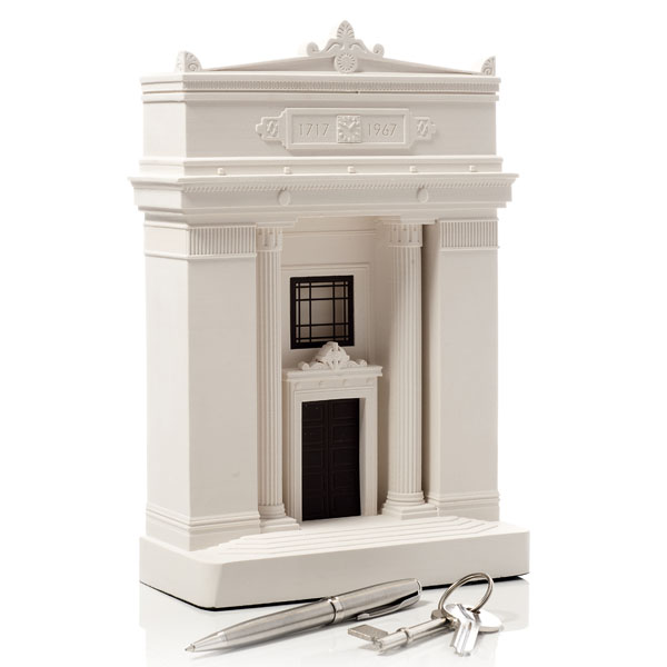 Freemasons Hall Model. Product Shot Front View. Architectural Sculpture by Chisel & Mouse
