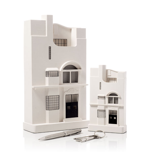 Glasgow School of Art Model. Product Shot Front View. Architectural Sculpture by Chisel & Mouse